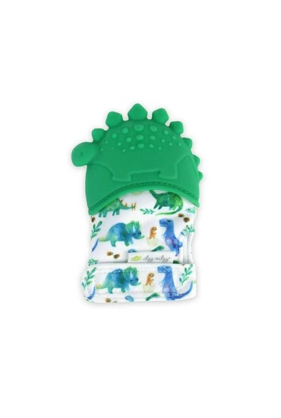 Teething Mitt Dino