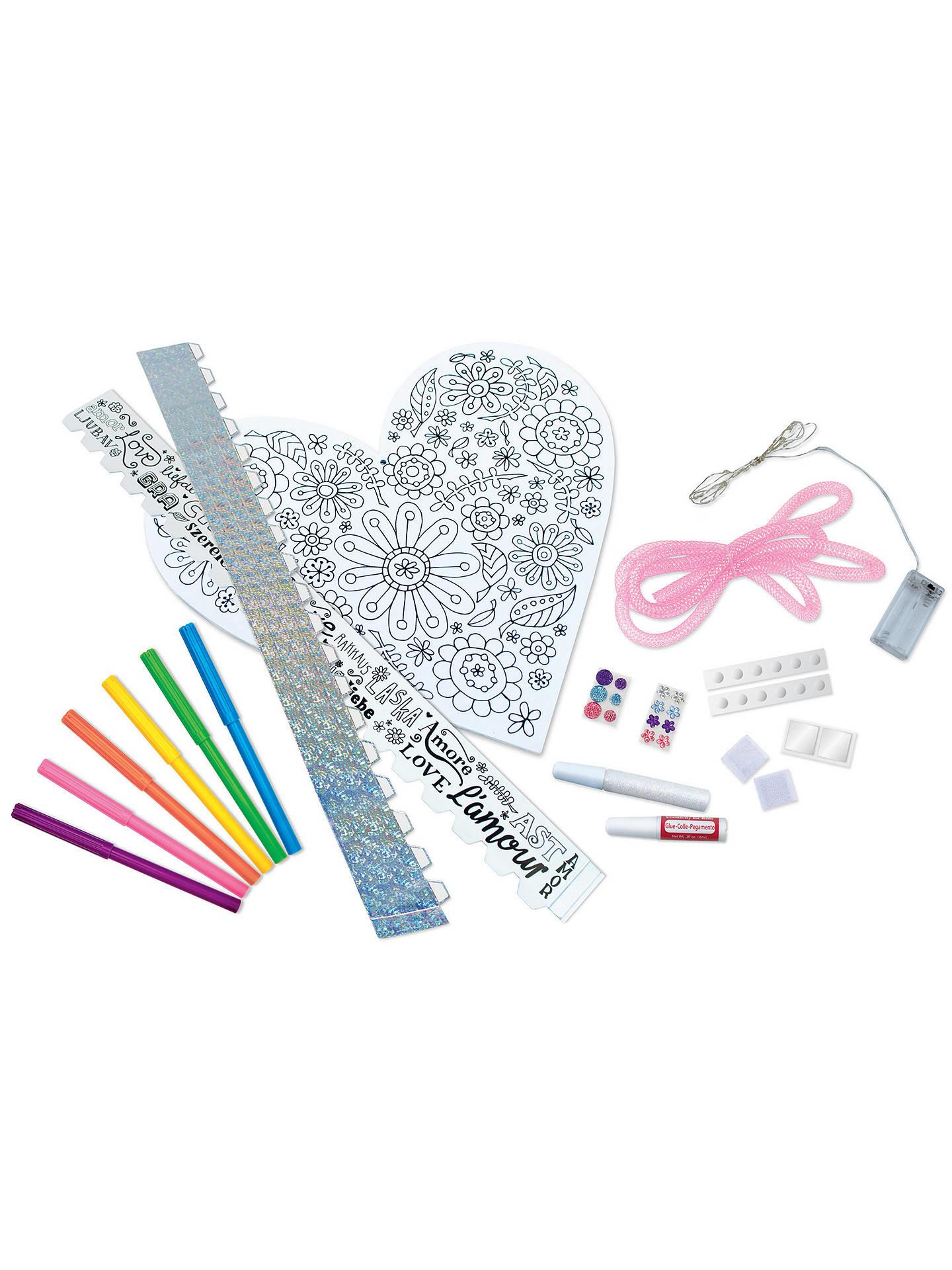 Kit/String Art Heart Light-3
