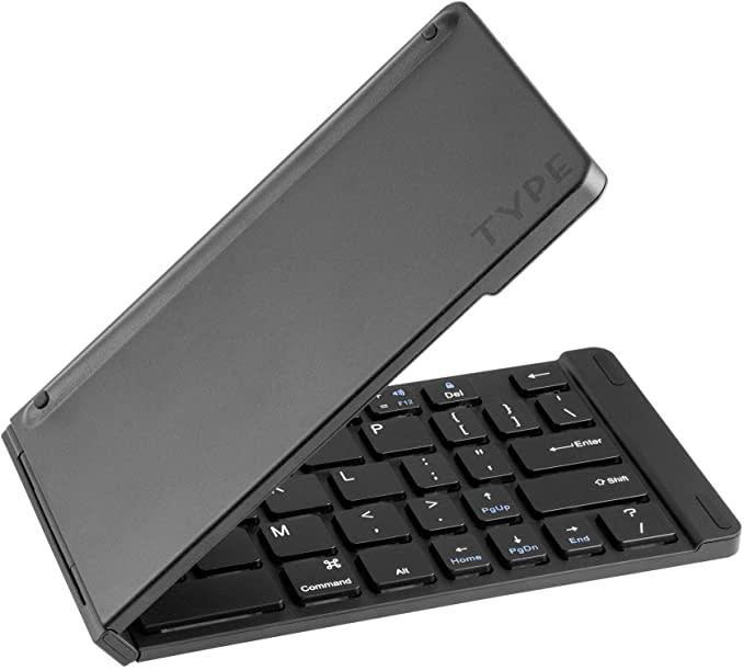 Keyboard Type Wireless Matte Black-1