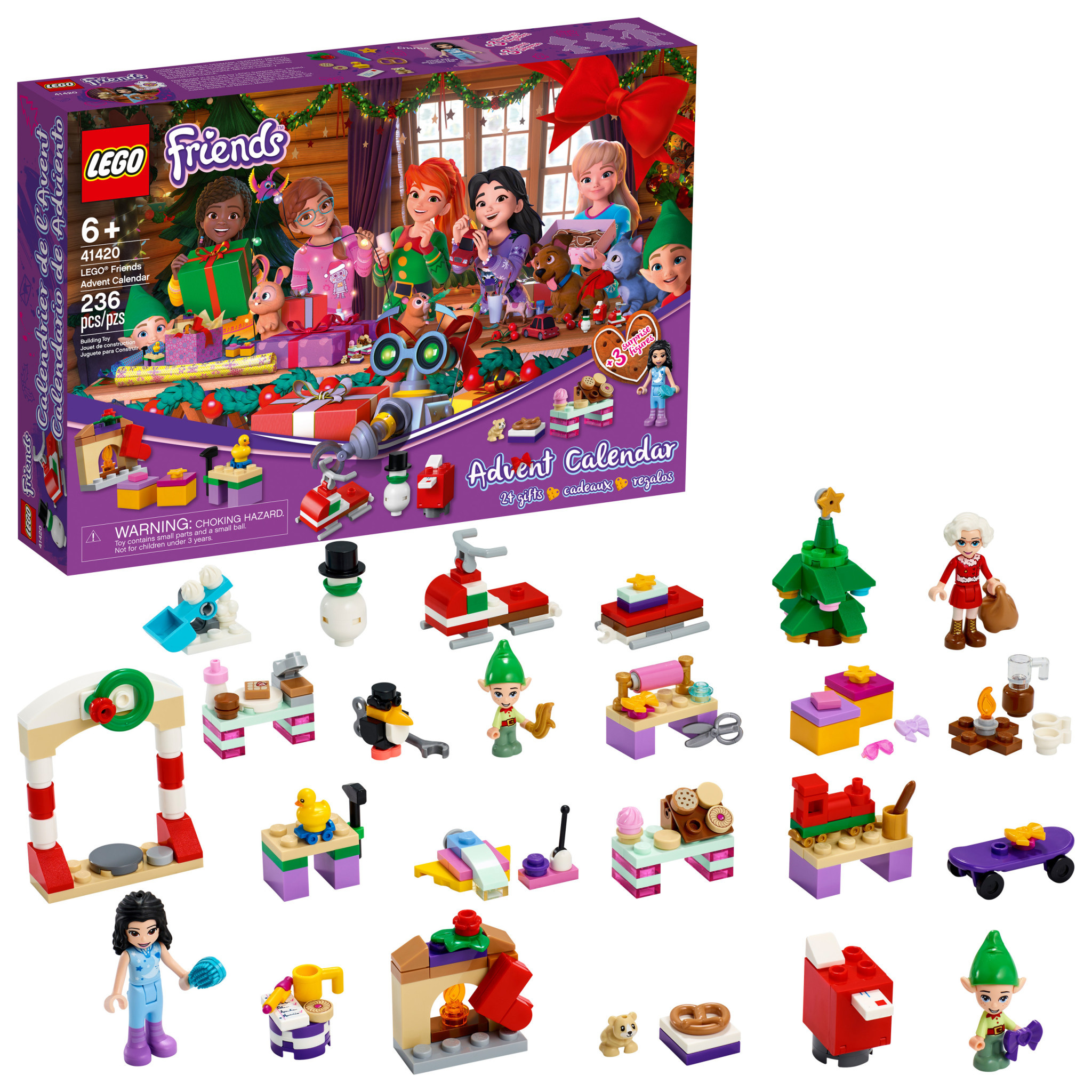 Friends Advent LEGO Calendar 2020-2