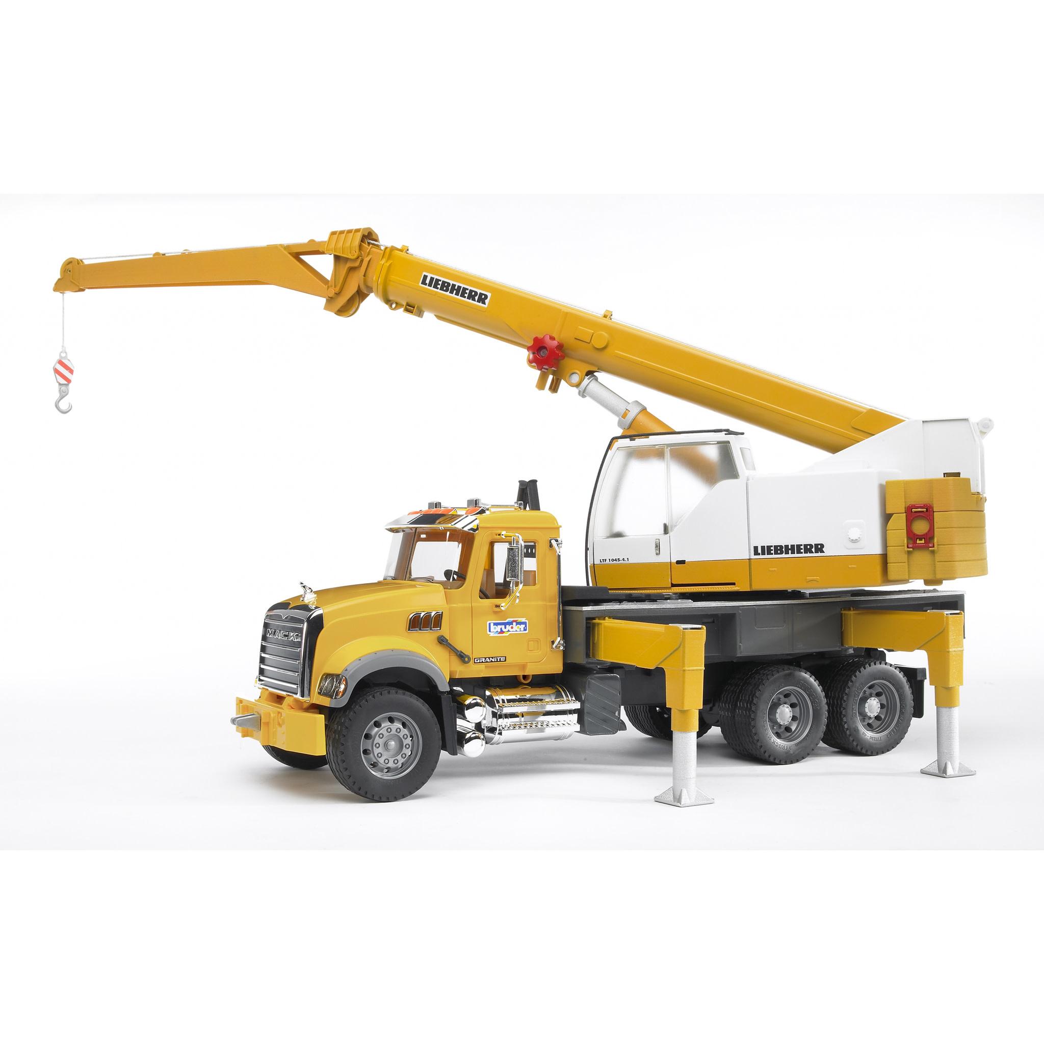 Bruder/MACK Crane Truck-1