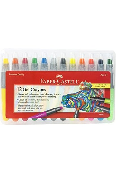 Faber Gel Crayons 12 ct