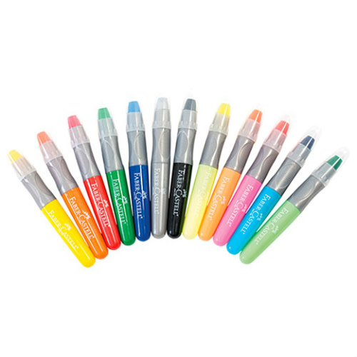 Faber Gel Crayons 12 ct-2