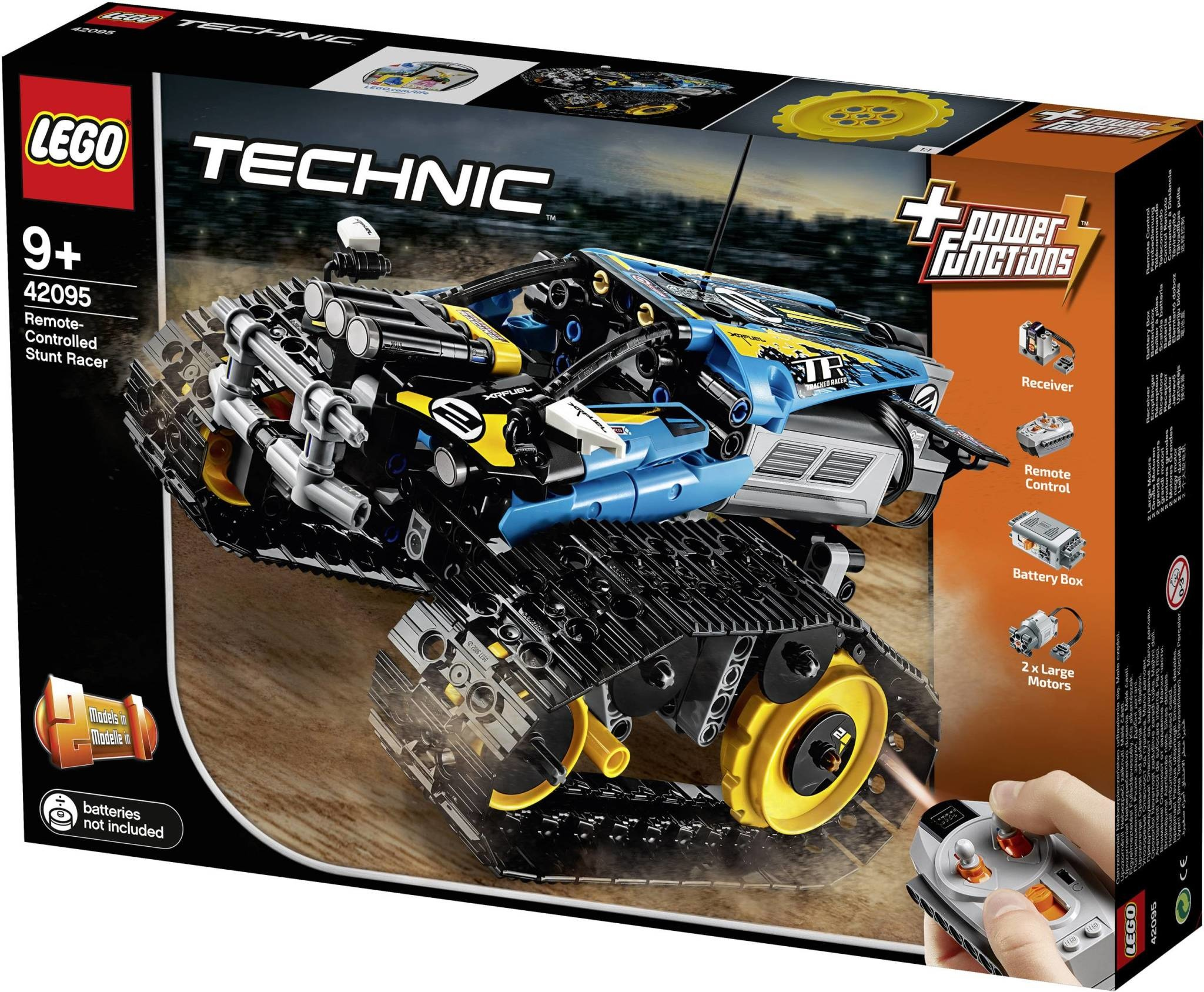 LEGO Technic Remote-Controlled Stunt Racer-1