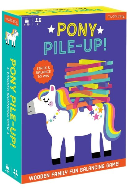 Pony Pile-Up! Wooden Game