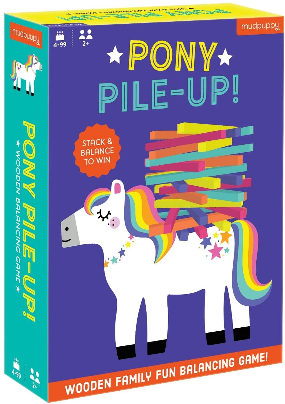 Pony Pile-Up! Wooden Game-1