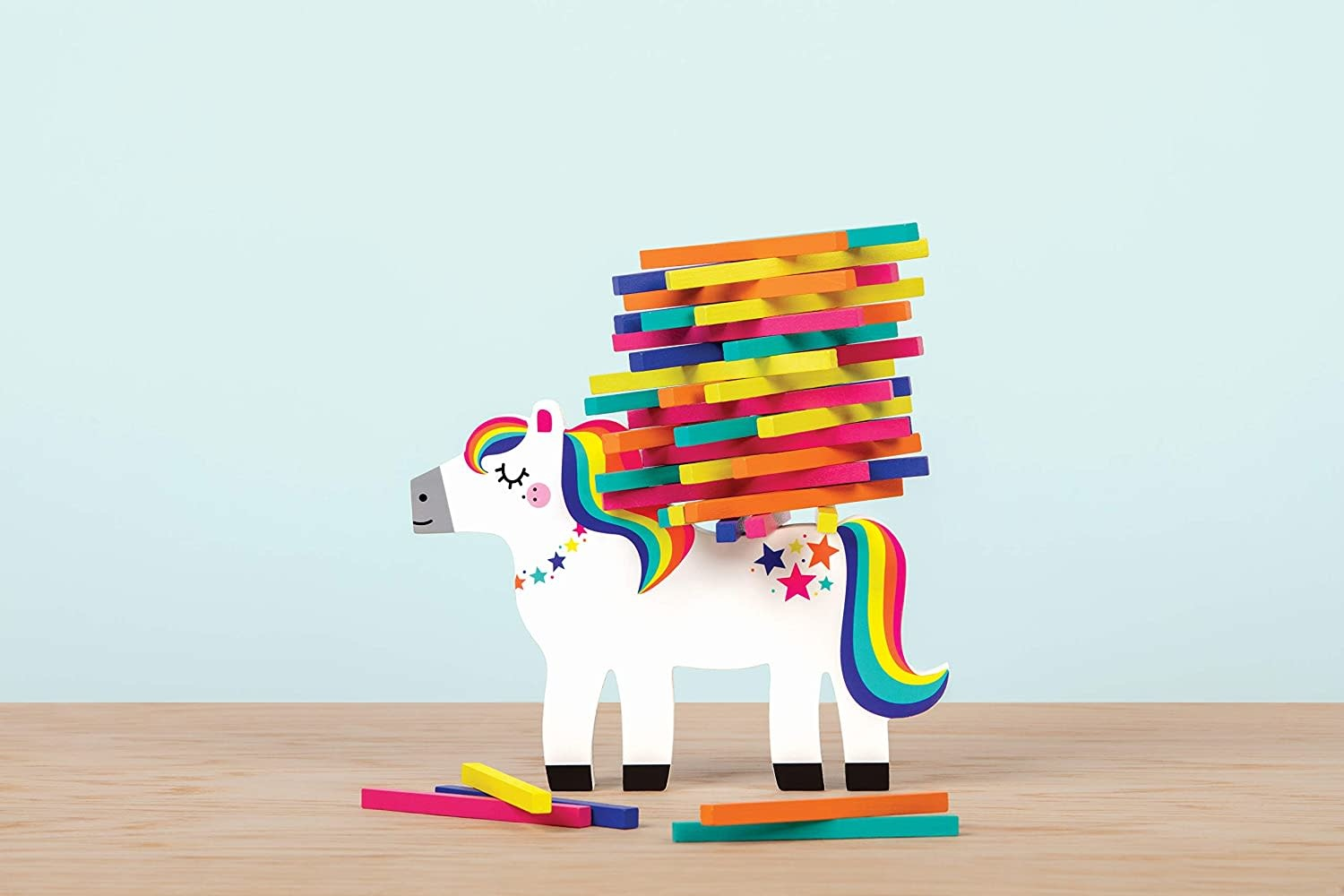 Pony Pile-Up! Wooden Game-2