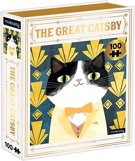 The Great Catsby 100 pc Puzzle-1