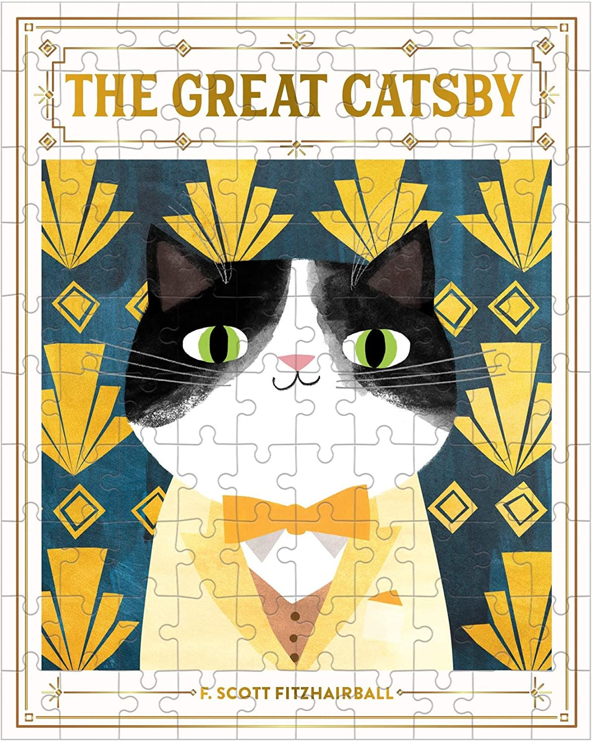 The Great Catsby 100 pc Puzzle-3