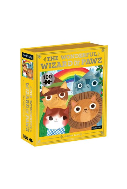 The Wonderful Wizard of Pawz 100 pc Puzzle