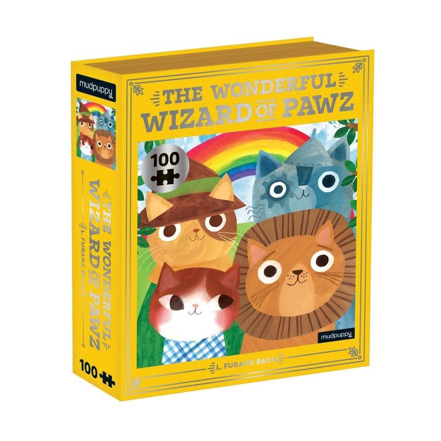 The Wonderful Wizard of Pawz 100 pc Puzzle-1