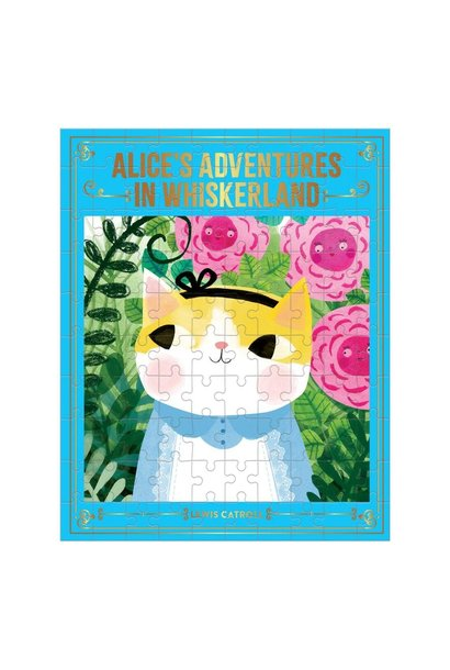 Alice's Adventures In Whiskerland 100 pc Puzzle