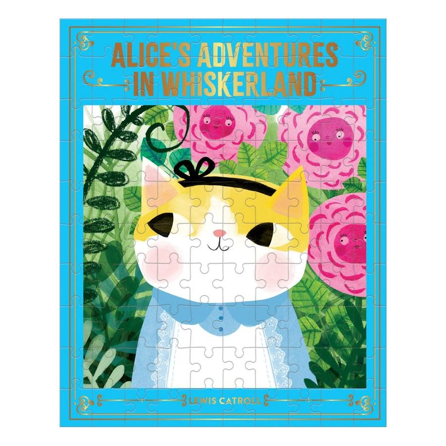 Alice's Adventures In Whiskerland 100 pc Puzzle-1
