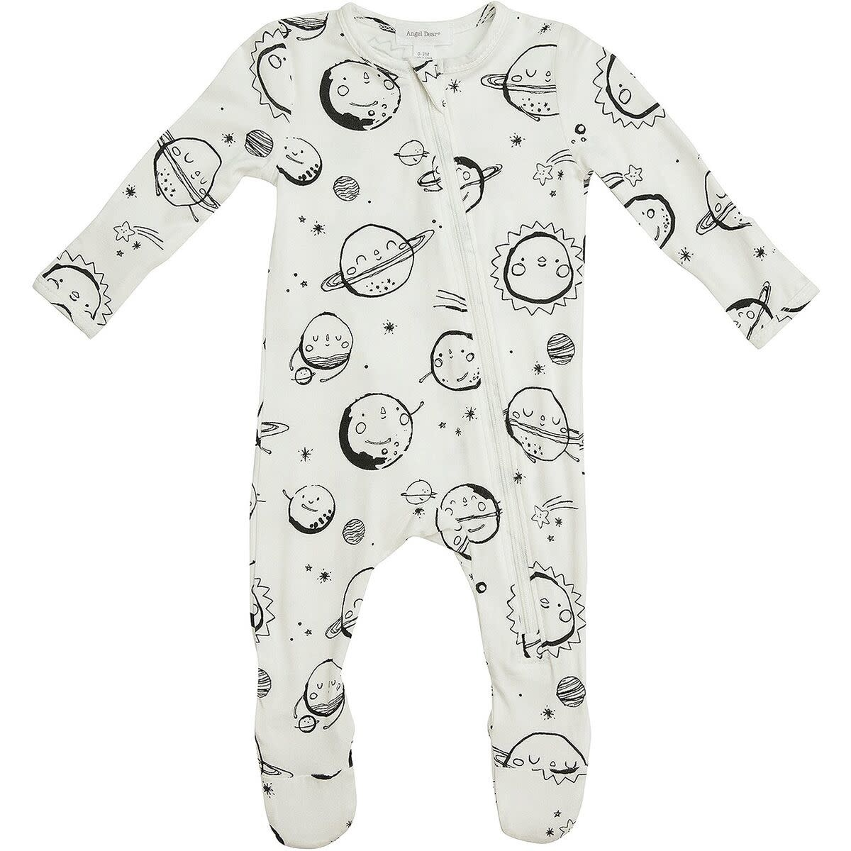Huggable Planets Zipper Footie Pajama-3