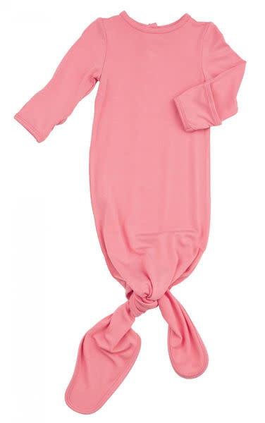 Angel Dear Basic Gown & Cap Set Flamingo Pink-1
