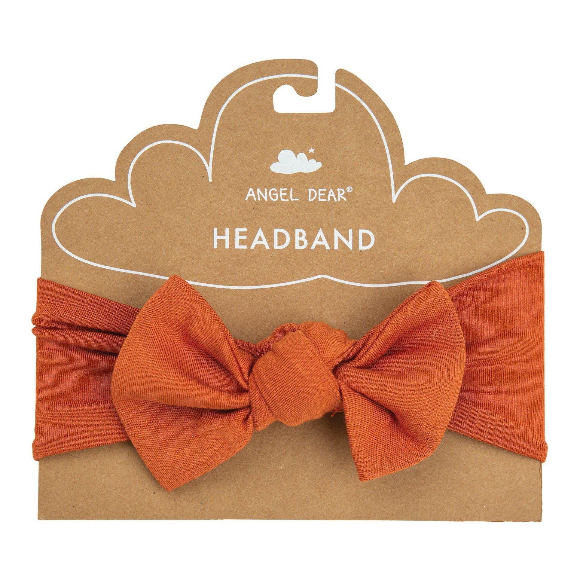 Angel Dear Basic Headband Rust-1