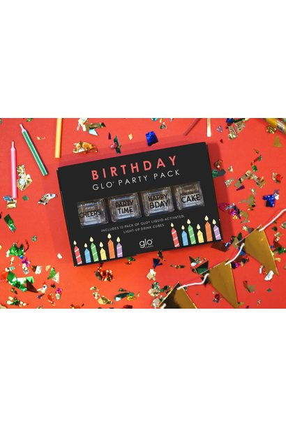 Glo Cubes Birthday 12 Pack