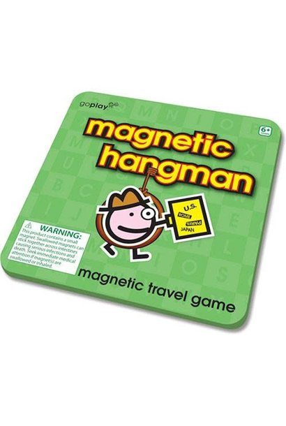 Magnetic Hangman Game