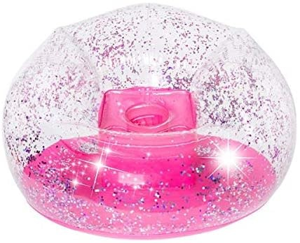 Pink Glitter Confetti Chair-1