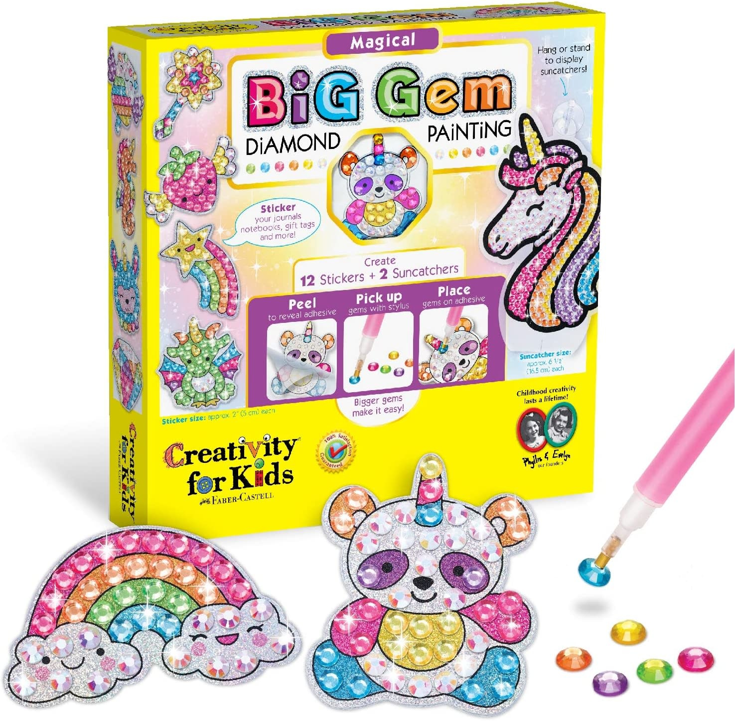 Big Gem Magical Diamond Painting Unicorn-1
