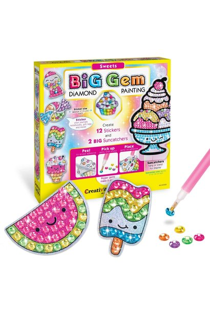 Big Gem Sweets Diamond Painting Kit