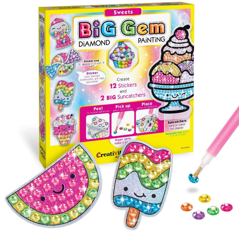 Big Gem Sweets Diamond Painting Kit-1