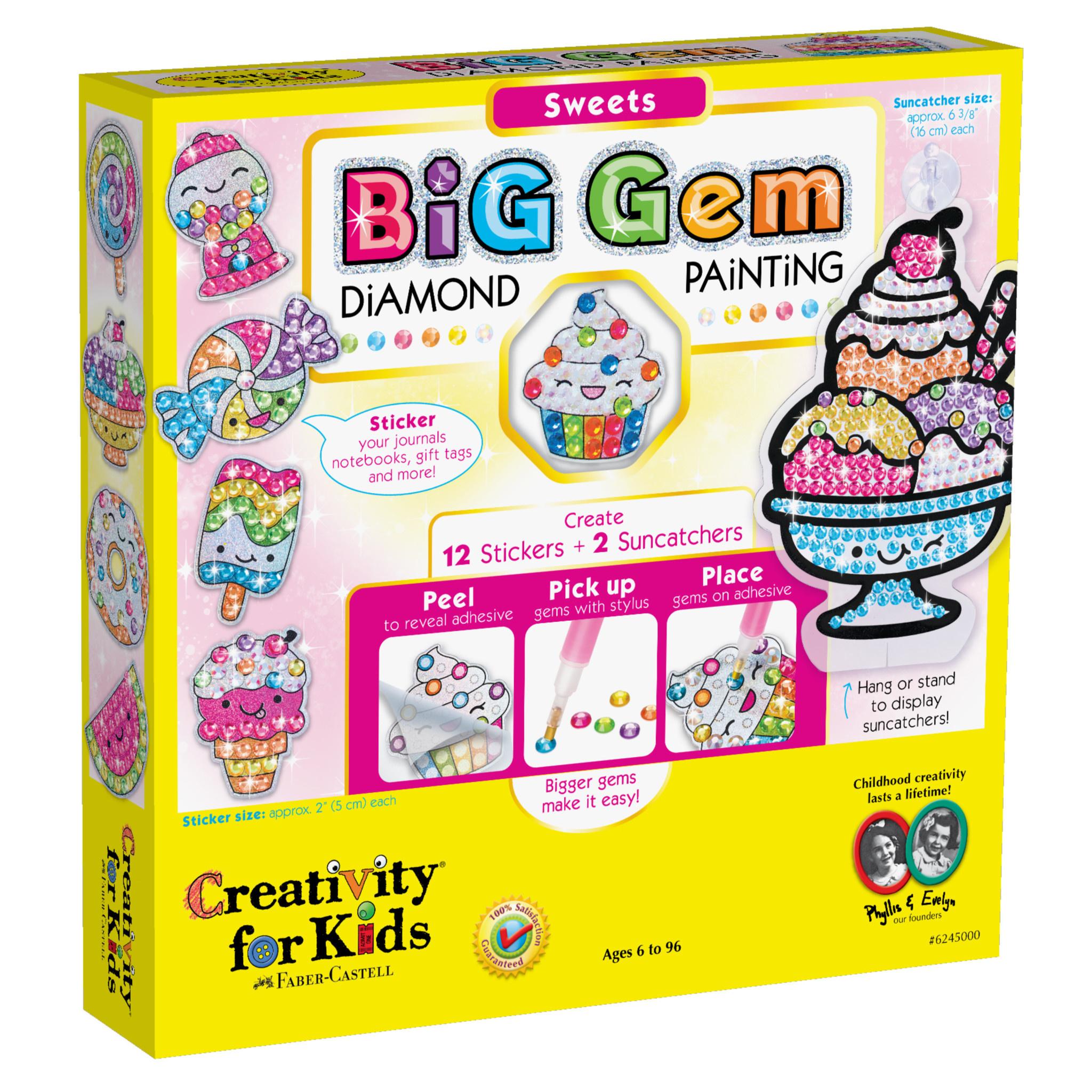 Big Gem Sweets Diamond Painting Kit-2