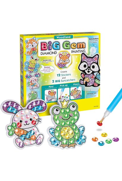 Big Gem Woodland Diamond Painting Kit