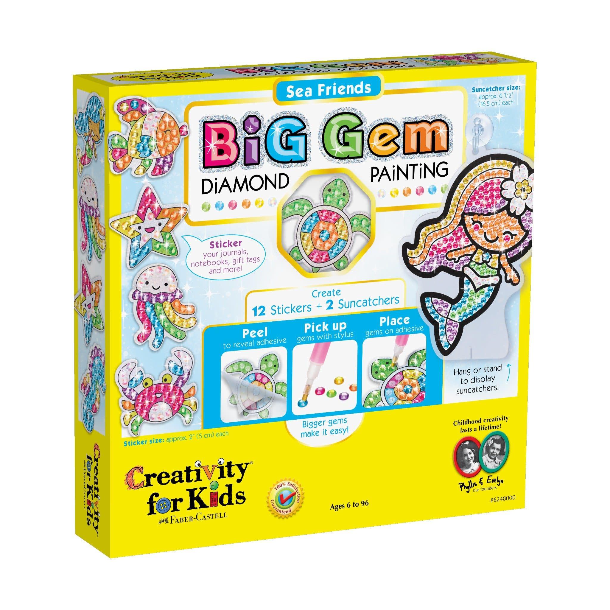 Big Gems Sea Friends Diamond Painting Kit-2