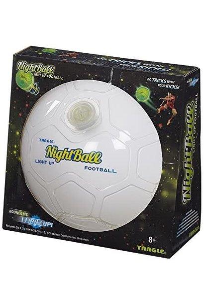 Tangle Nightball Soccer White