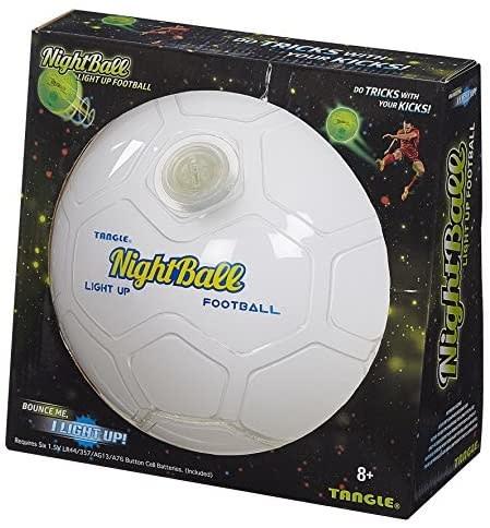 Tangle Nightball Soccer White-1