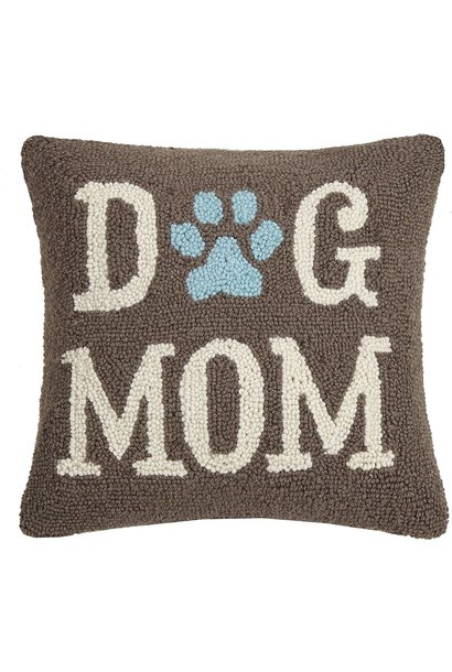 "Dog Mom 14 X 14"" Pillow"