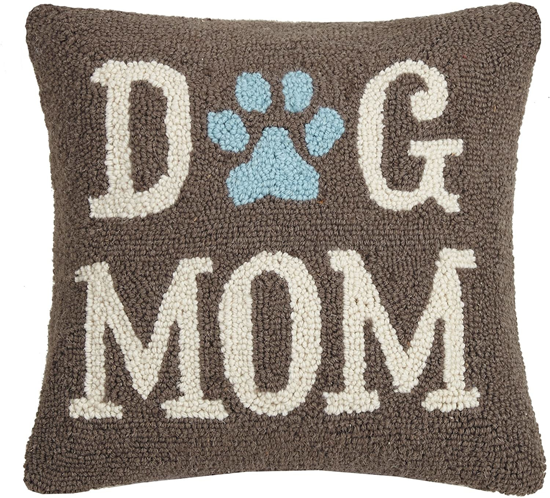 "Dog Mom 14 X 14"" Pillow-1"