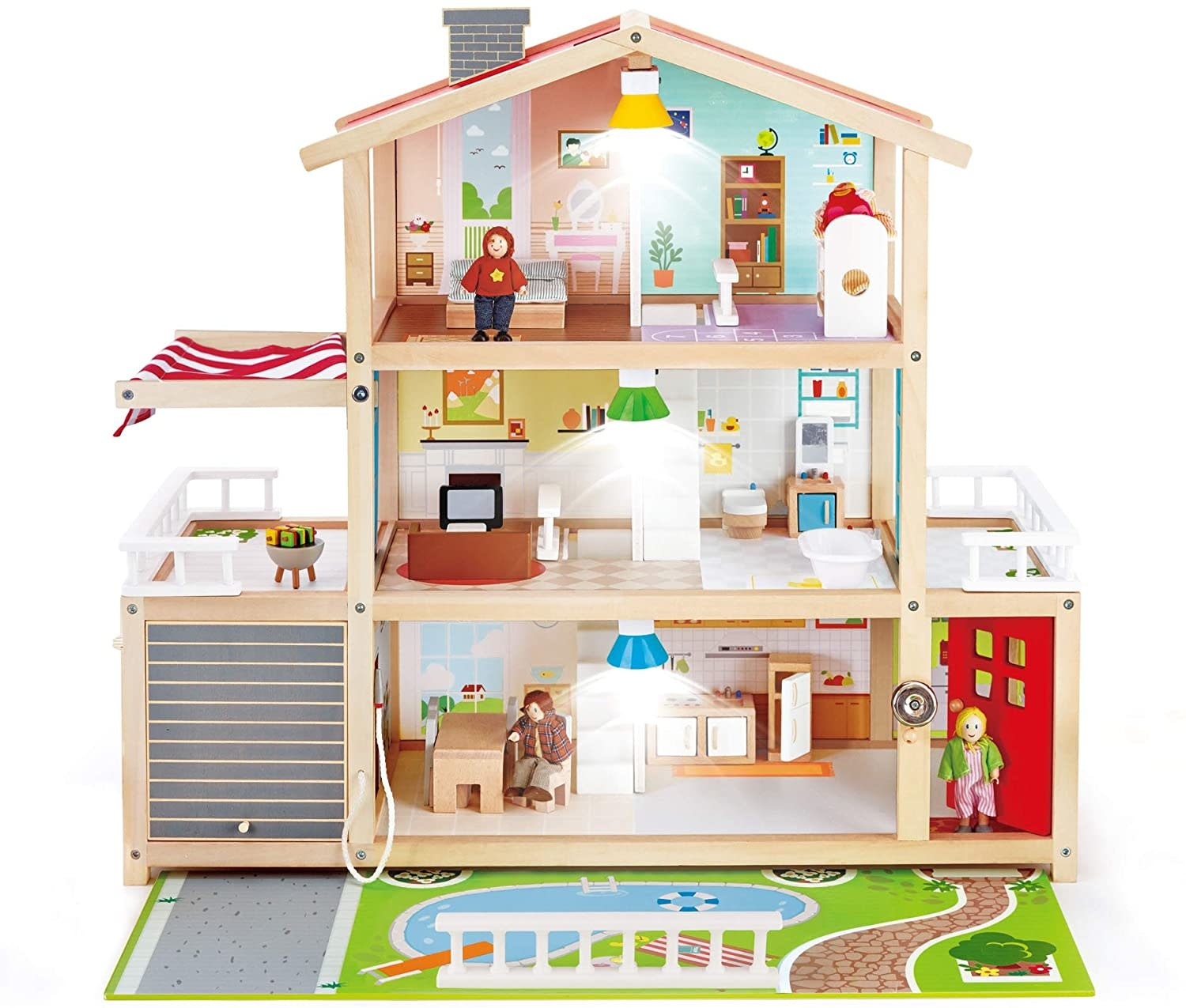 Hape Doll Family Mansion-2