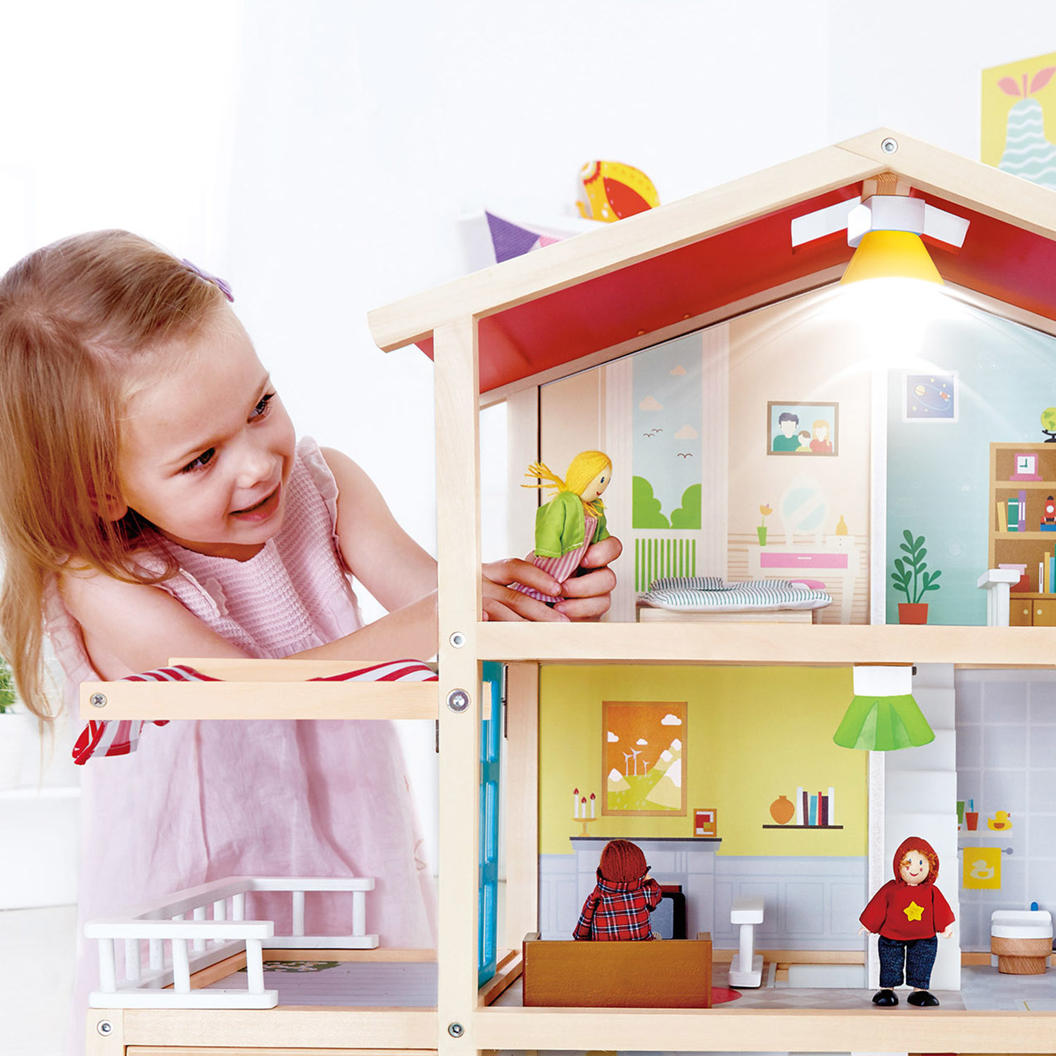 Hape Doll Family Mansion-3