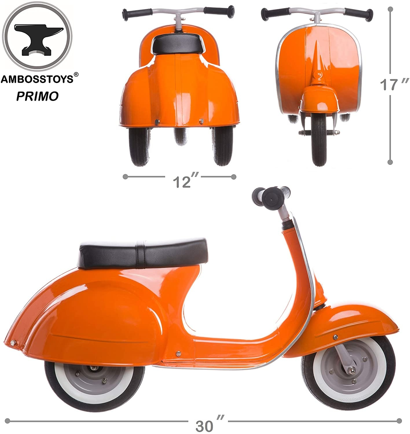 Primo Ride On Scooter Orange-2