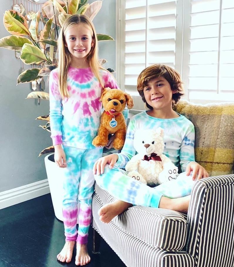 Momma Osa Pajama Set Tie Dye Kit Majestic-2