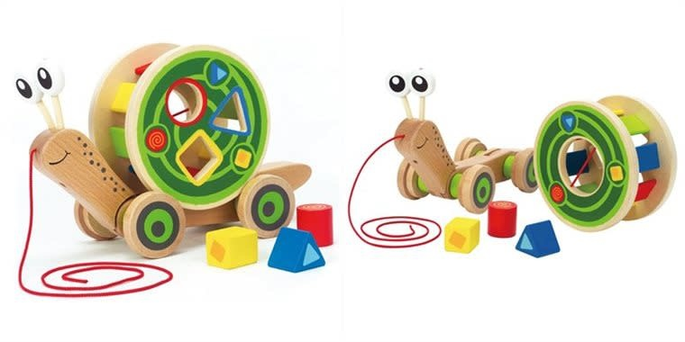Hape Walk-A -Long Snail-2