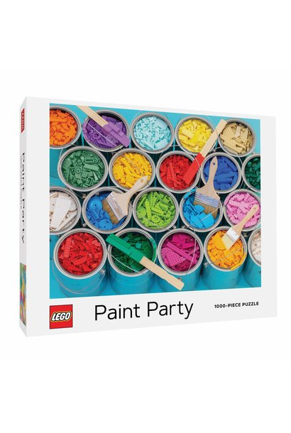 LEGO Paint Party Puzzle 1000 pc