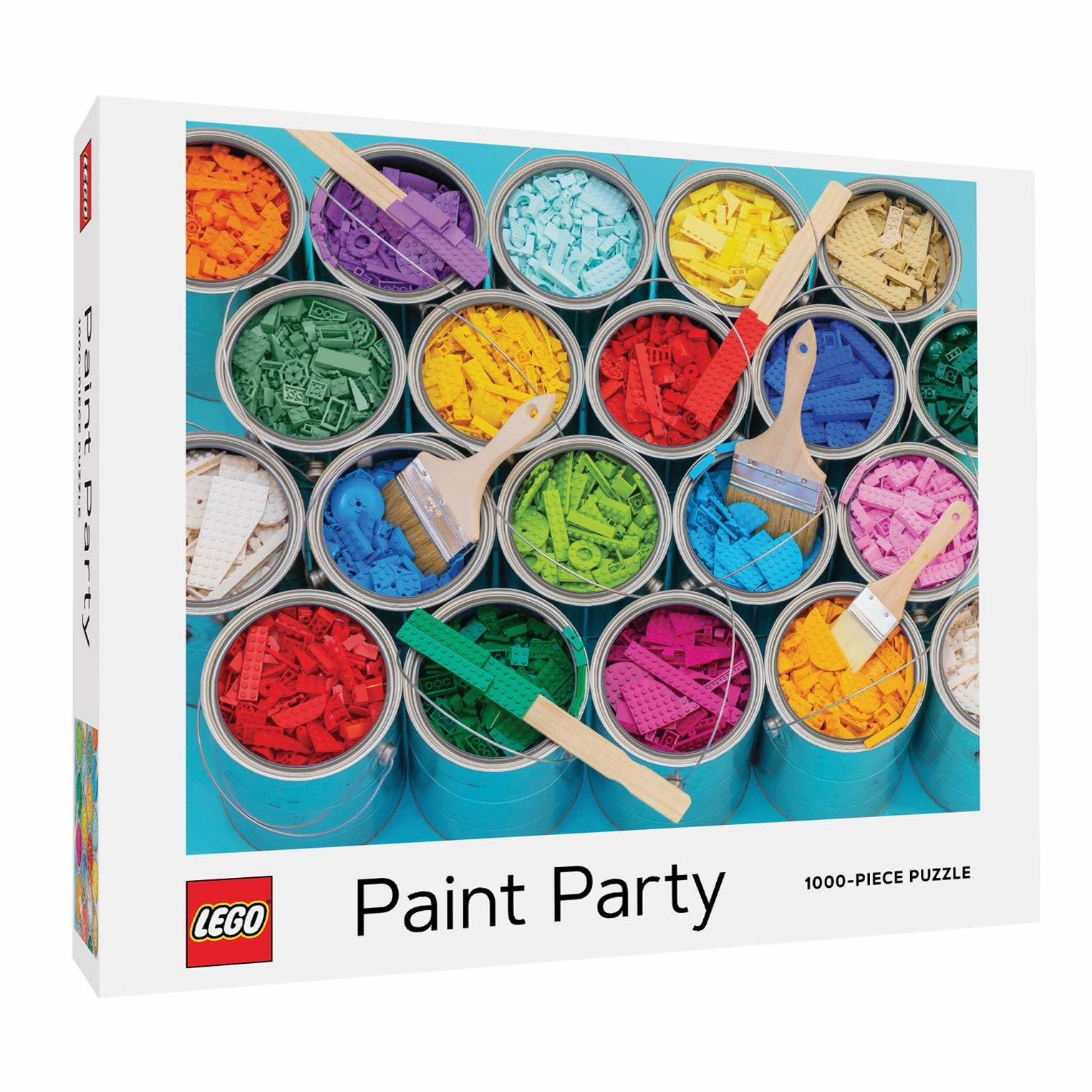 LEGO Paint Party Puzzle 1000 pc-1