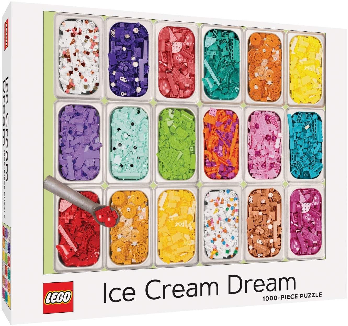 LEGO Ice Cream Dream Puzzle 1000 pc-1