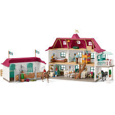 Schleich Horse Stable w/ House Large-2