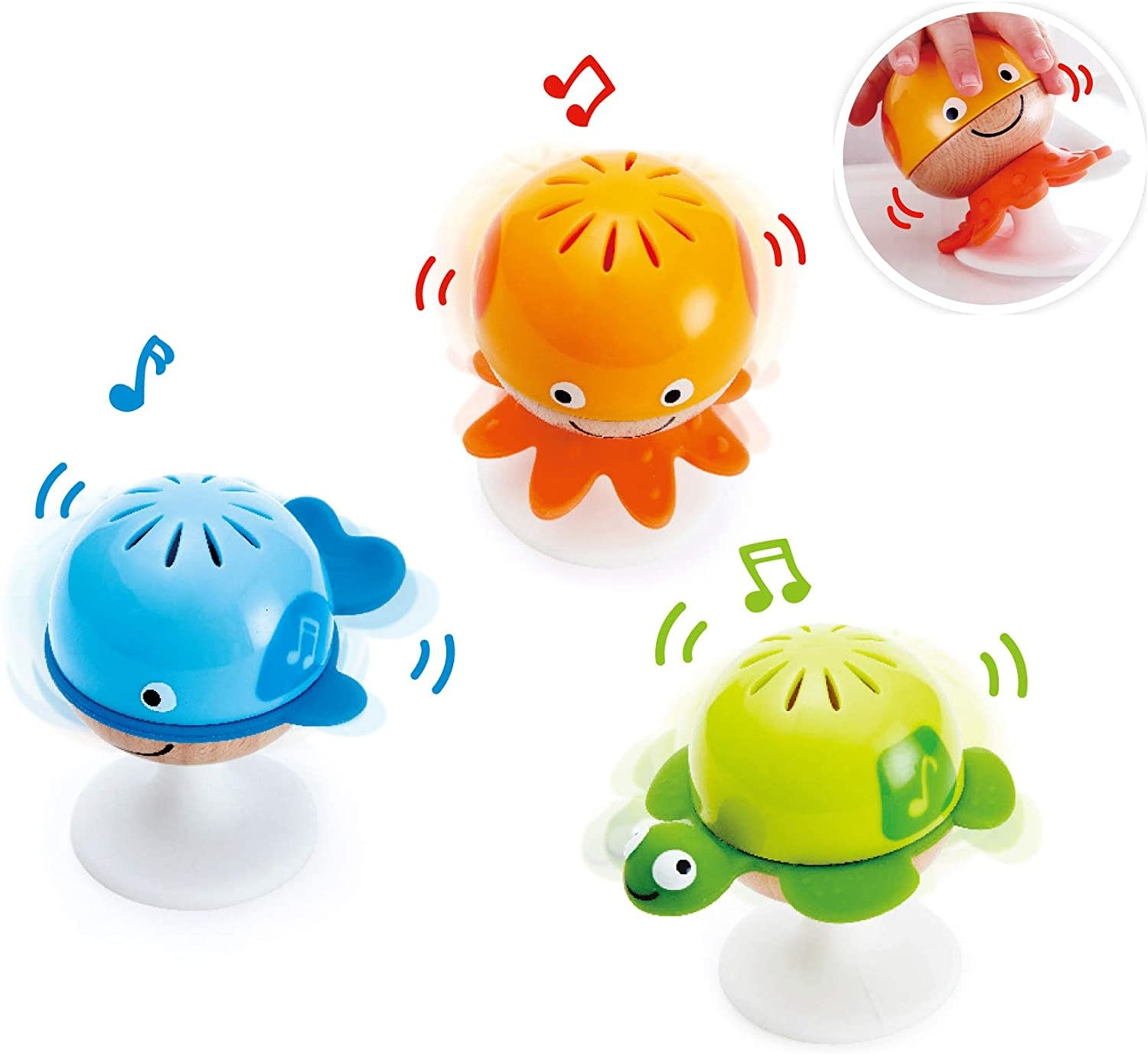 Hape Stay-Put-Rattle Set-4