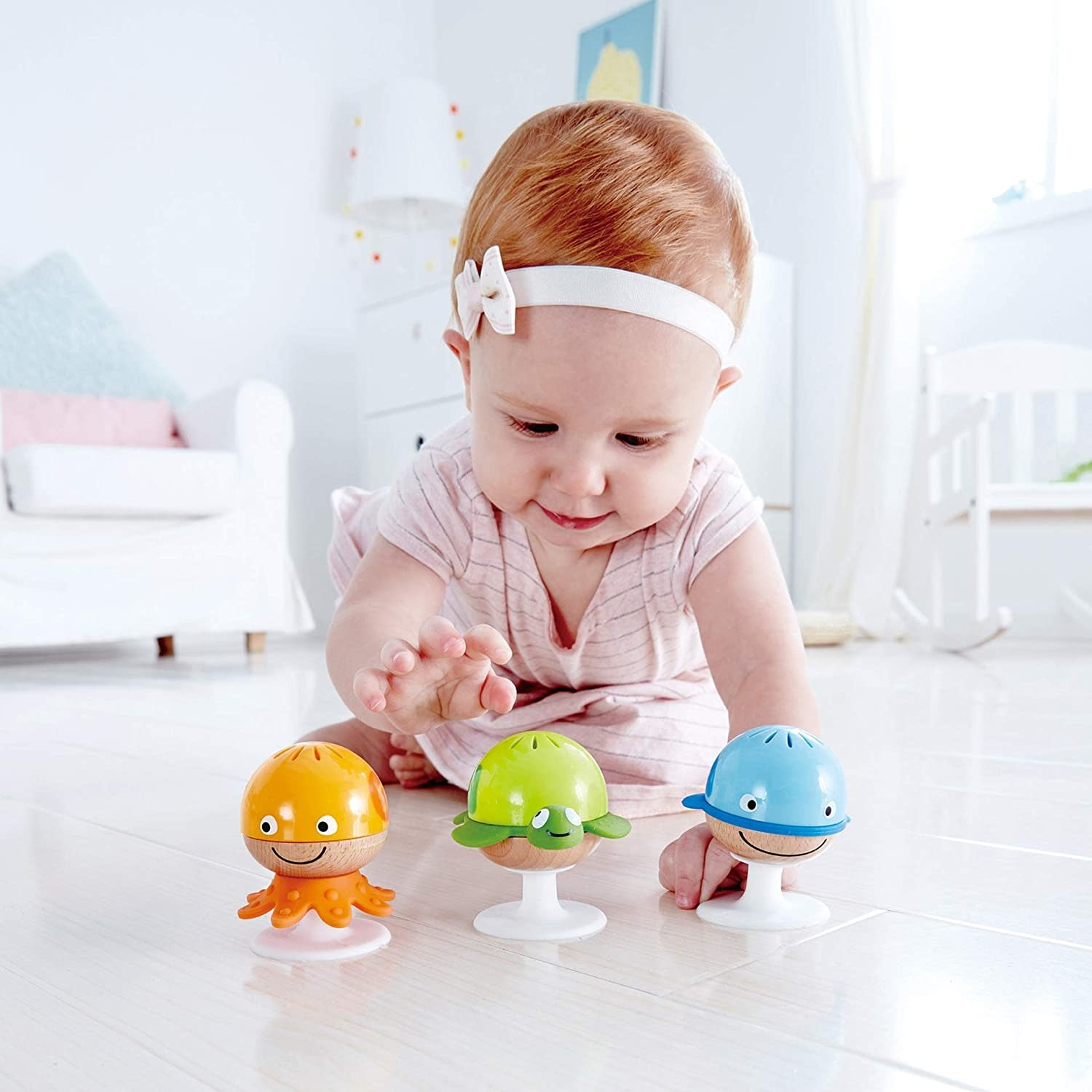 Hape Stay-Put-Rattle Set-2