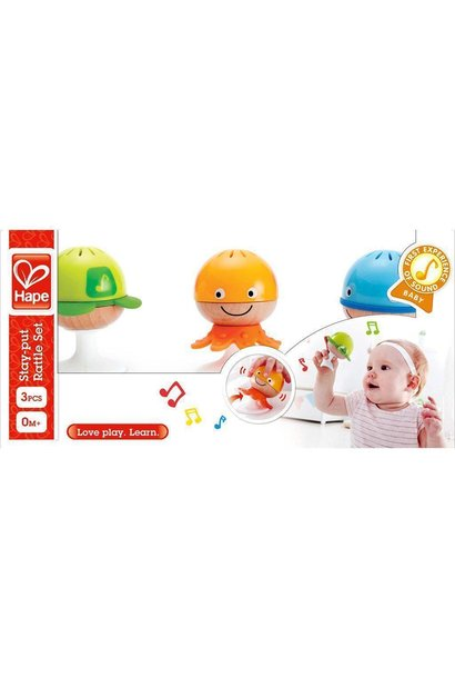 Hape Stay-Put-Rattle Set