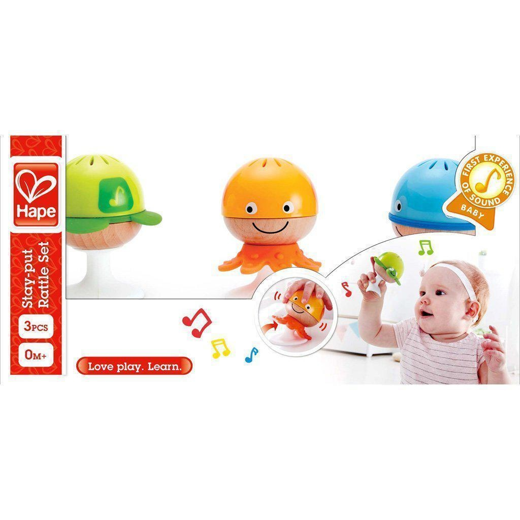 Hape Stay-Put-Rattle Set-1