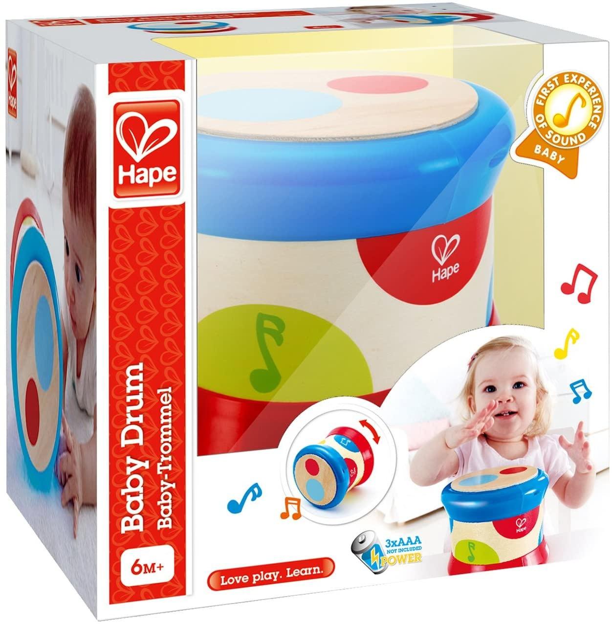 Hape Baby Drum-1