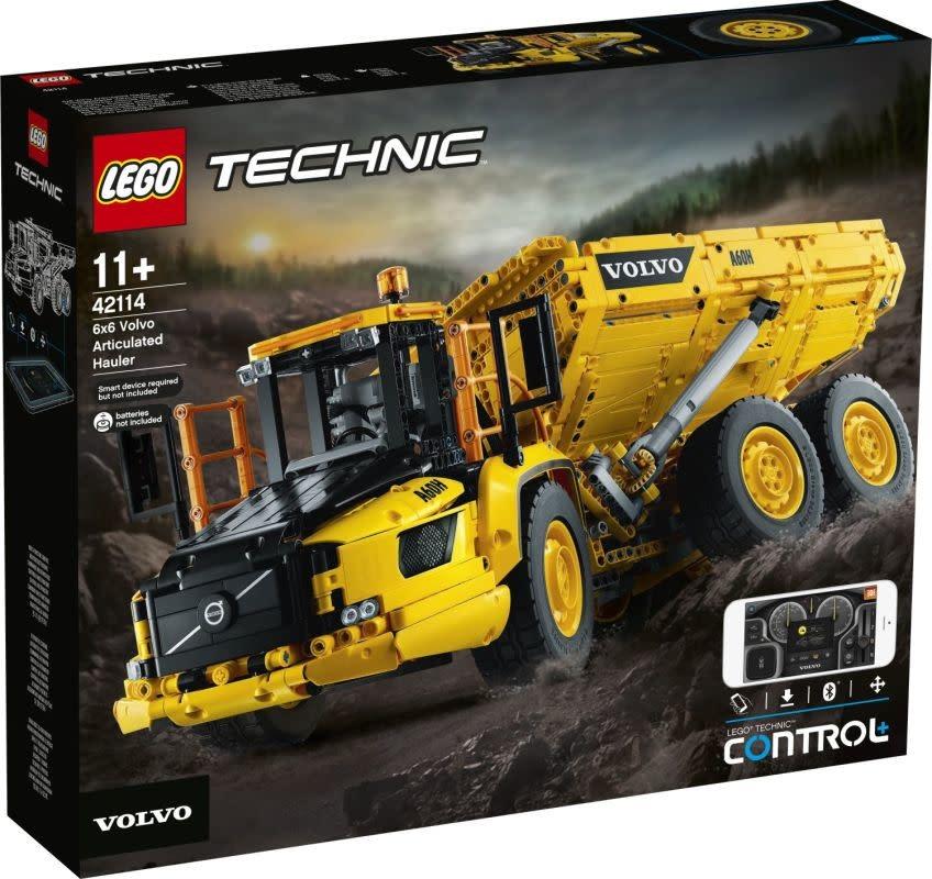 LEGO Technic 6x6 Volvo Articulated Hauler-1