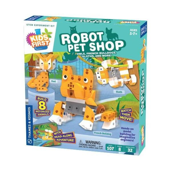 Kids First:  Robot Pet Shop-1
