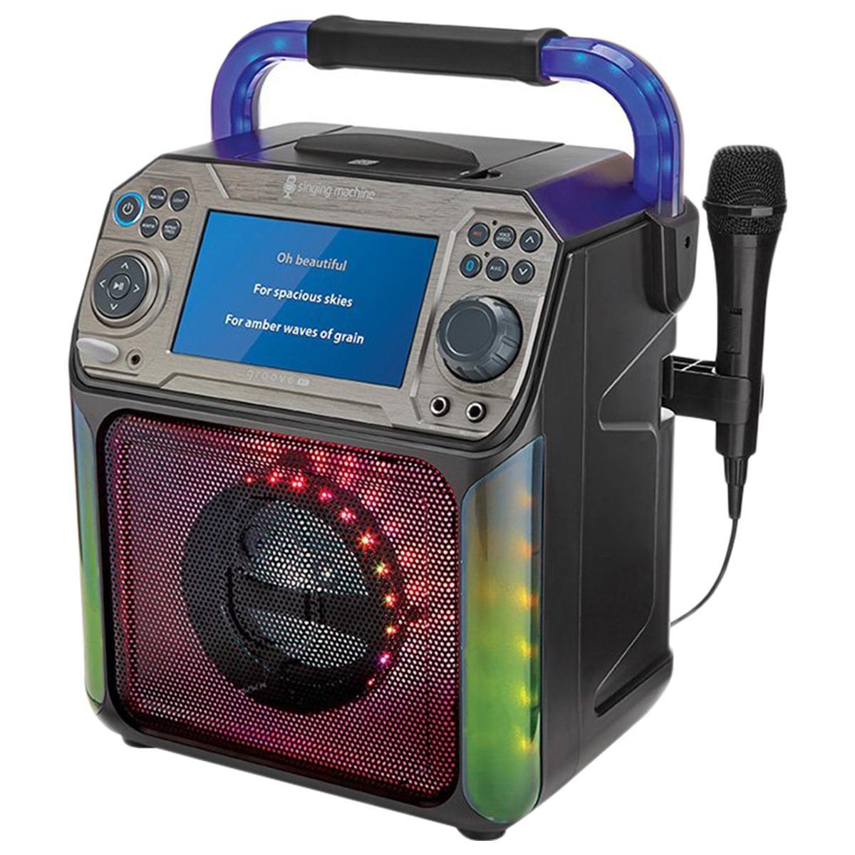 Groove Lg Karaoke Machine-1